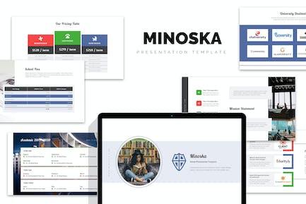 Minoska : School, College & Education Keynote