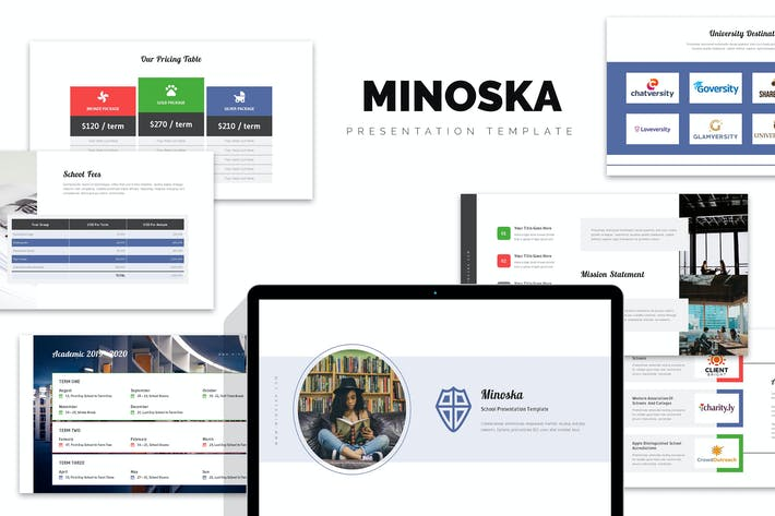 Thumbnail for Minoska : School, College & Education Keynote