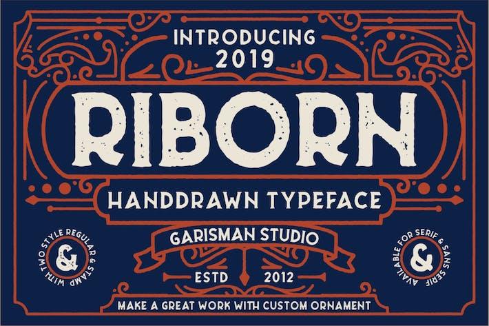 Thumbnail for Riborn | Fuente Rough Retro