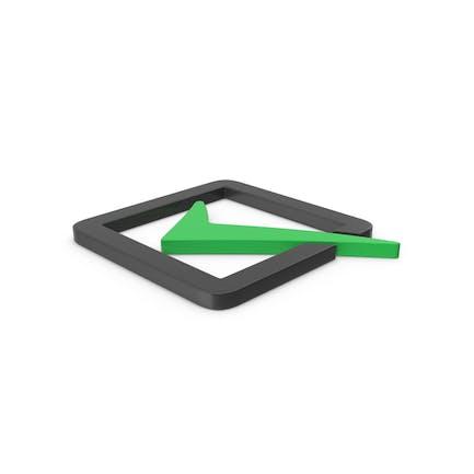 Green Symbol Check Box