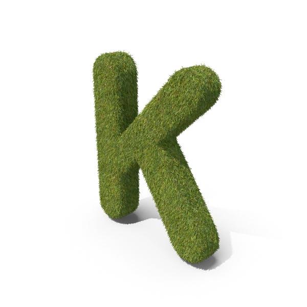 Трава заглавная буква K
