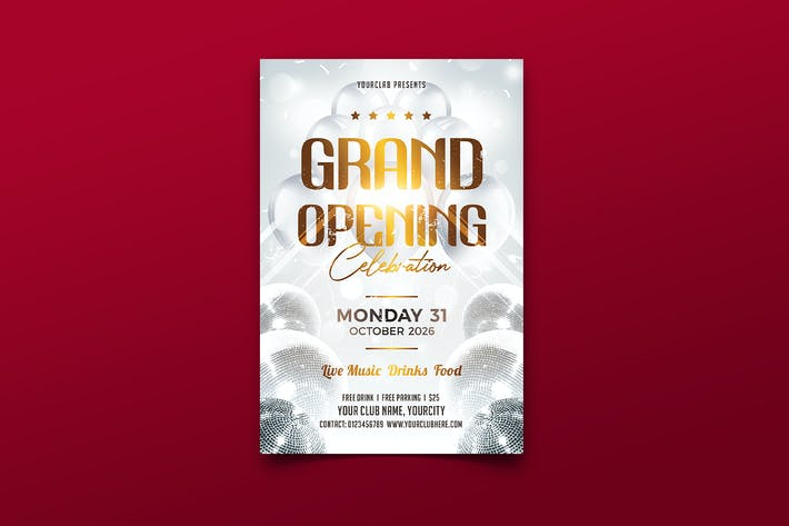 Thumbnail for Grand Opening Flyer