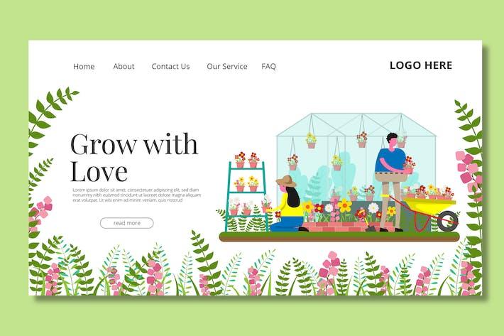 Thumbnail for Gardening - Landing Page