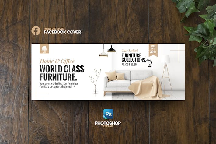 Thumbnail for Best Furniture Facebook Cover template
