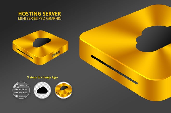 Thumbnail for Hosting Server Mini Series - Single Gold