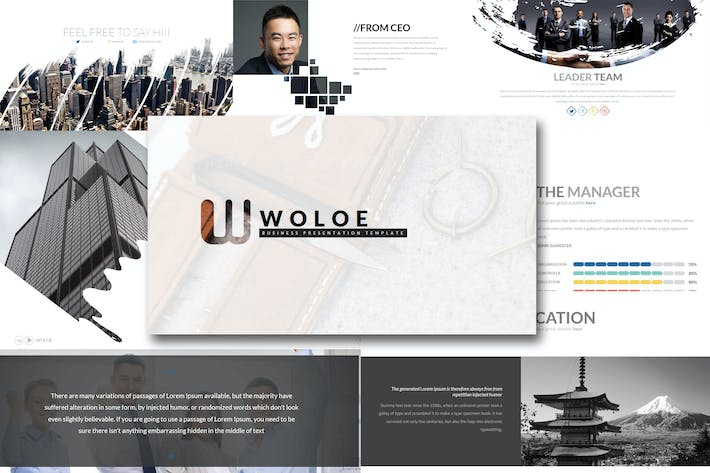Thumbnail for Wholoe - Powerpoint Template