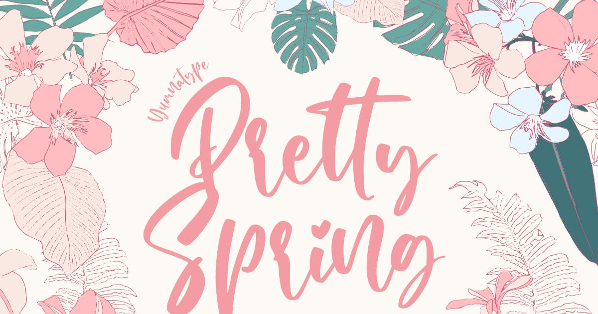 Download Pretty Spring by YumnaStudio