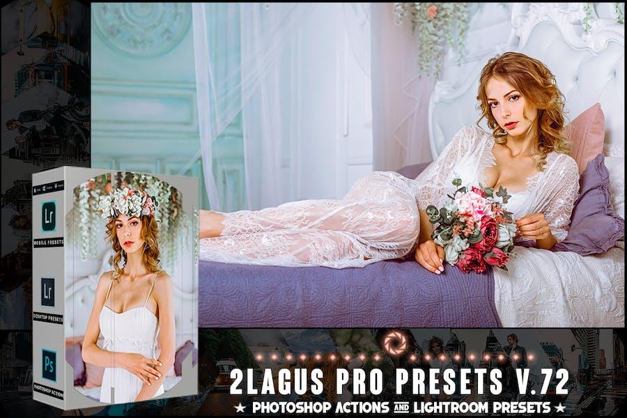 Пресеты PRO - V 72 - Photoshop и Lightroom