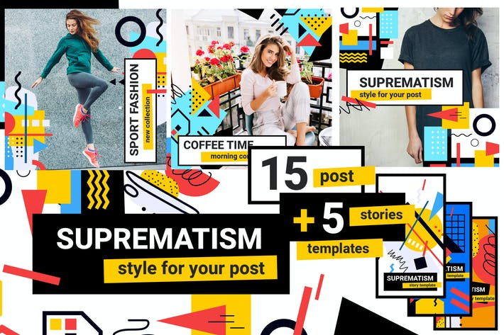 Thumbnail for Creative Instagram pack