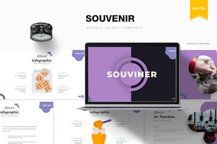 Thumbnail for Souvenir | Google Slides Template