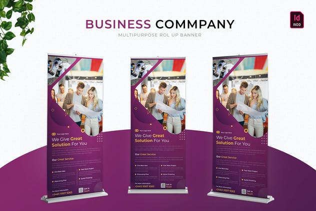 Business Company | Roll Up Banner