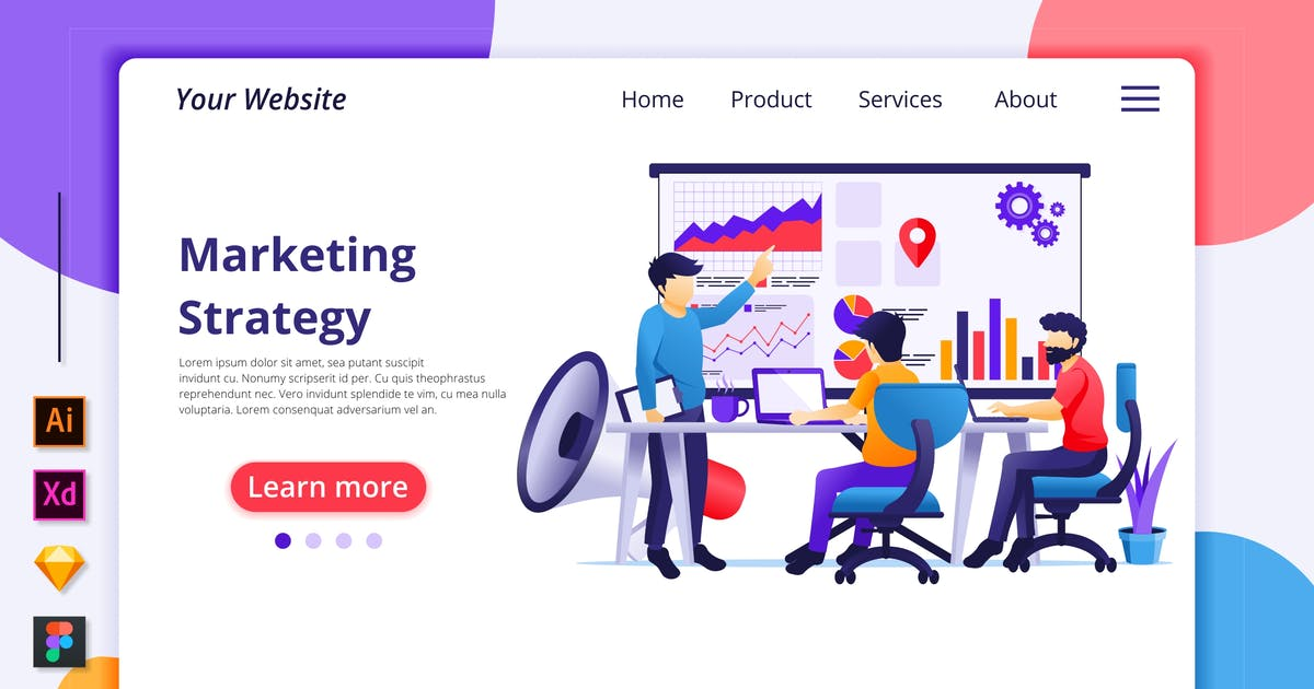 Download Marketing Illustration - Agnytemp by GranzCreative