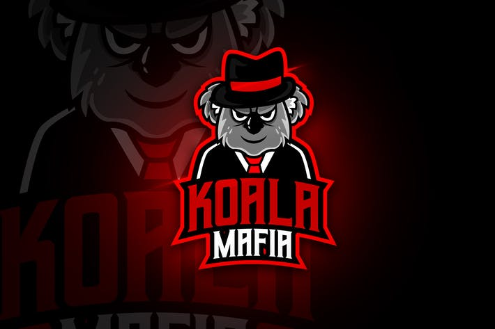 Thumbnail for Koala Mafia - Mascot & Esport Logo