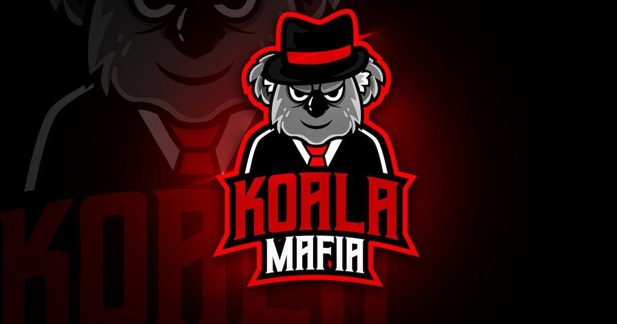 Download Koala Mafia - Mascot & Esport Logo by aqrstudio