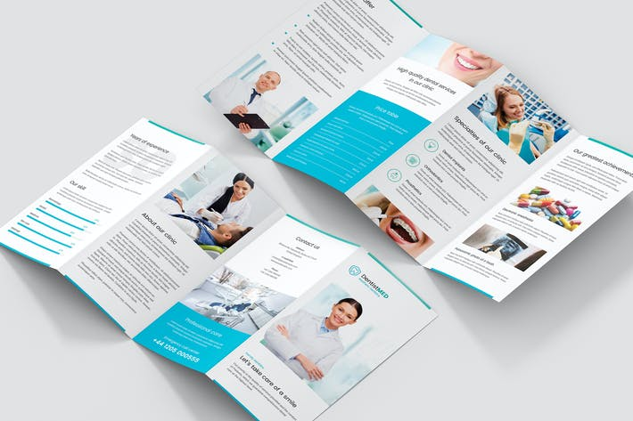 Thumbnail for Brochure – Dentist 4-Fold