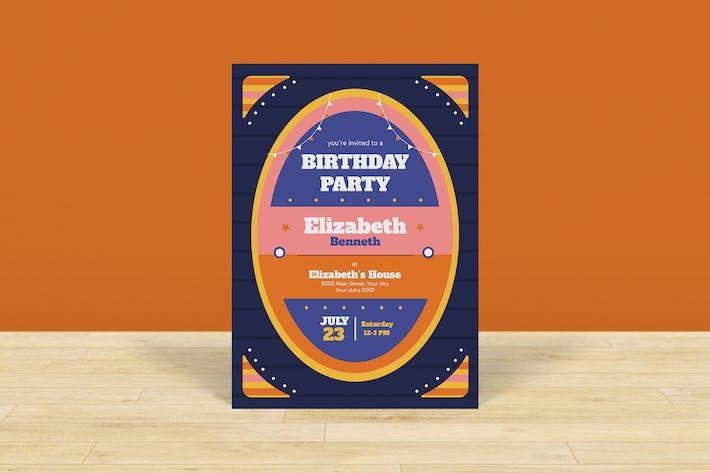 Thumbnail for Birthday Invitation