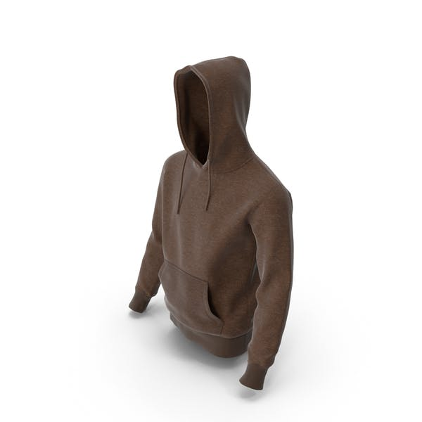 Mens Hoody Brown