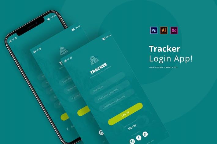 Thumbnail for Tracker Login App