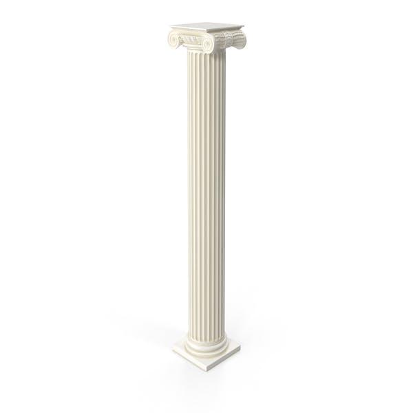 Ionic Flute Column