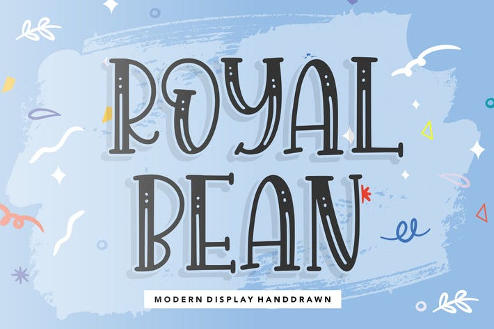 Royalbean Display Font YH