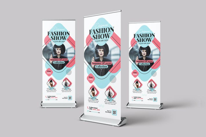 Thumbnail for Fashion Show Roll-Up Banner