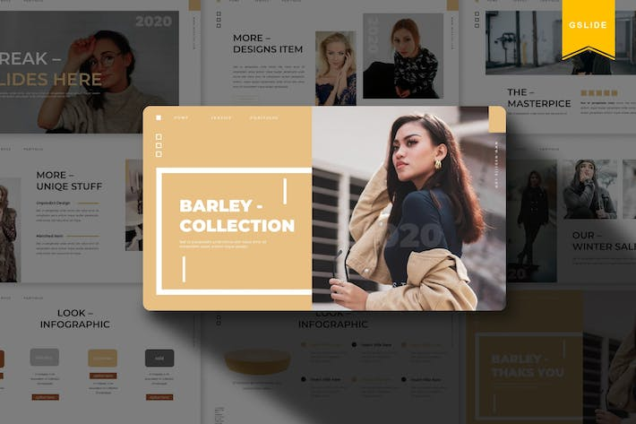 Thumbnail for Barley | Google Slides Template