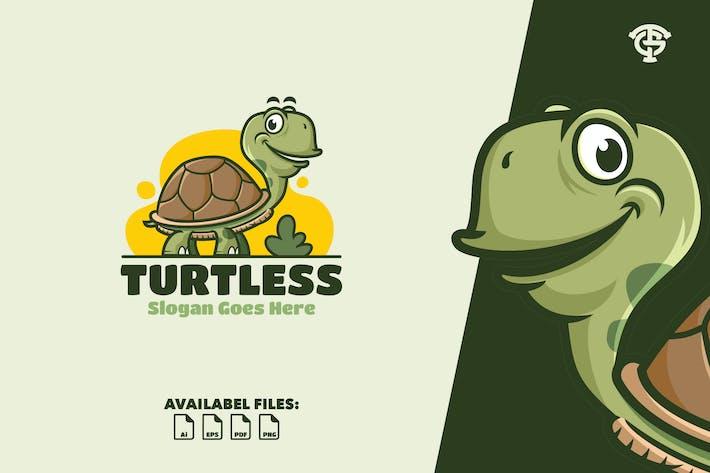 Thumbnail for Turtless - Logo Mascot