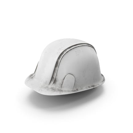 Hard Hat Dirty White