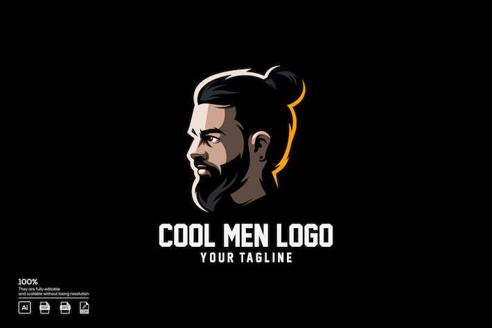 Thumbnail for cool men logo design