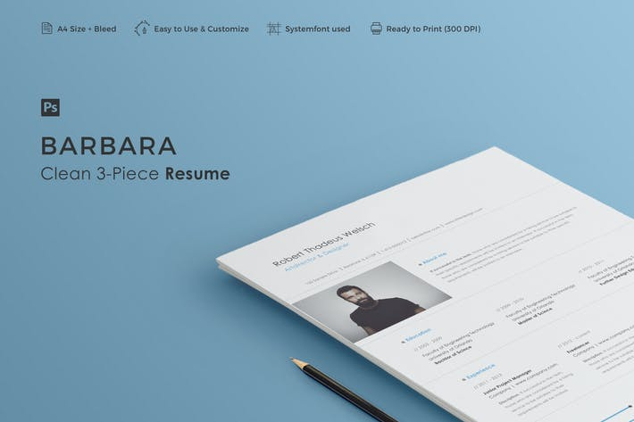 Thumbnail for Resume | Barbara