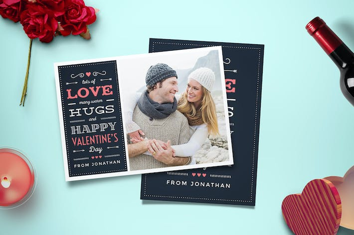 Cover Image For Valentine's Day Photo Card