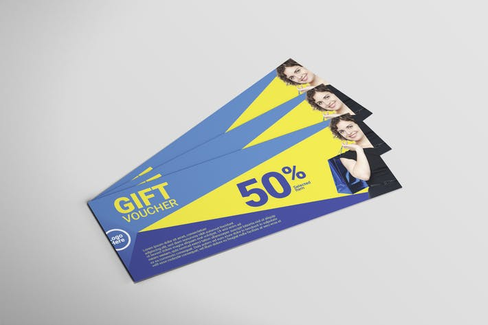 Thumbnail for Multipurpose Blue - Voucher Design