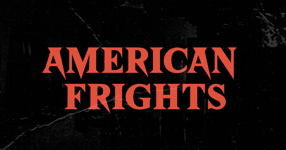Download American Frights - Horror Serif Font by TheBrandedQuotes