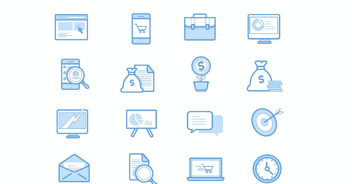 Download Commerce Light Icons by Jumsoft
