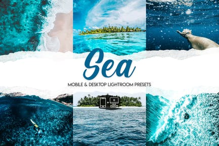Sea - 15 Premium Lightroom Presets
