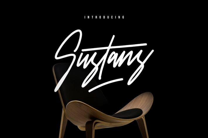 Thumbnail for Sustans Typeface