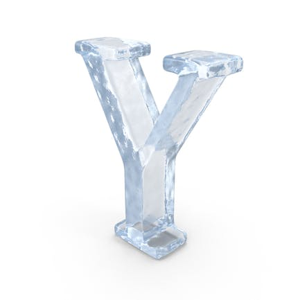 Ice Capital Letter Y
