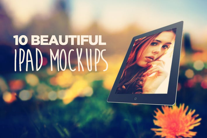 Thumbnail for 10 Beautiful Tablet Mockups