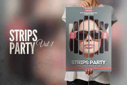 Strips Flyer Poster