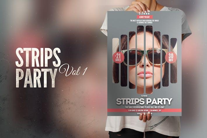 Thumbnail for Strips Flyer Poster