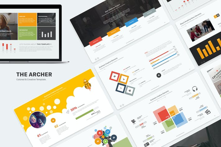 Thumbnail for The Archer - Multipurpose Powerpoint Template