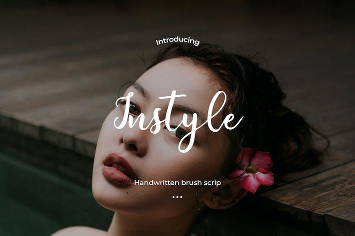 Thumbnail for Instyle - Сценарий кисти от руки