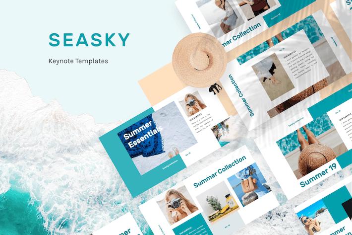 Thumbnail for Seasky Creative Keynote Template
