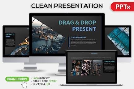 Clean Powerpoint Present