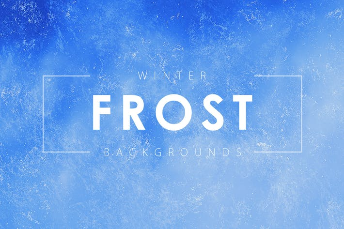 Cover Image For Winter Frost Backgrounds