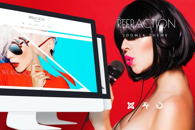 Refraction — Creative Agency and Blog Template - product preview 3