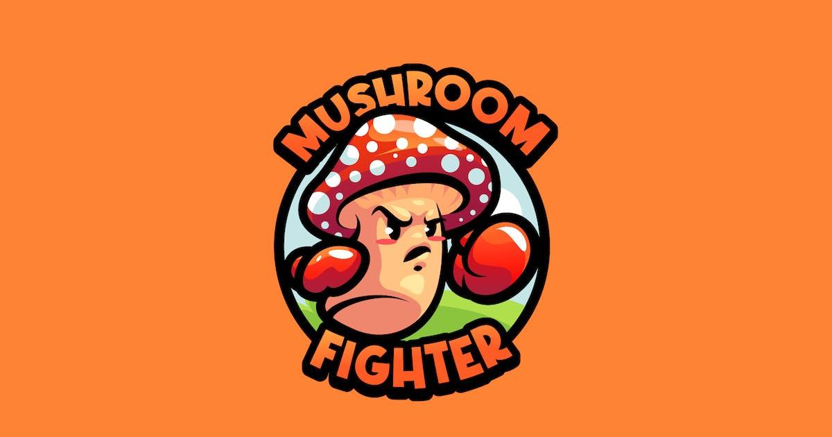 Download Mushroom Mascot Logo by febryangraves