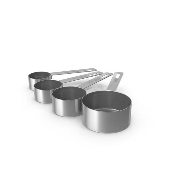 Thumbnail for Taza de medición de acero