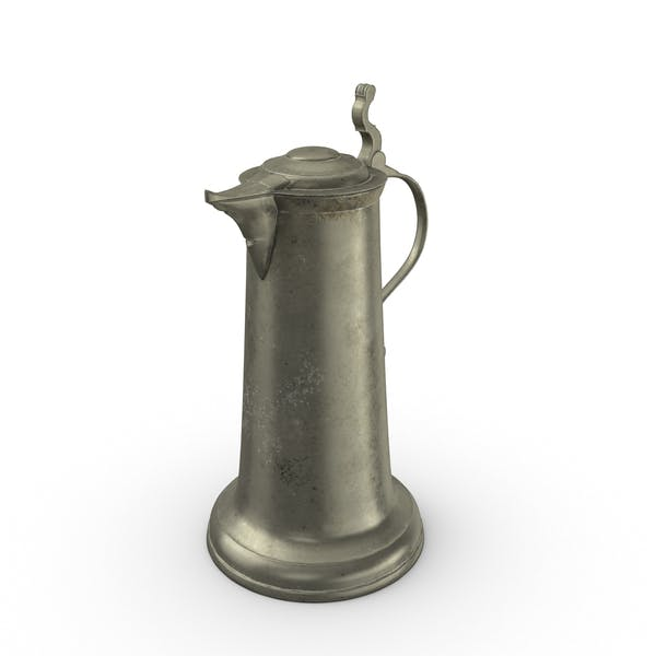 Thumbnail for Pewter Pitcher