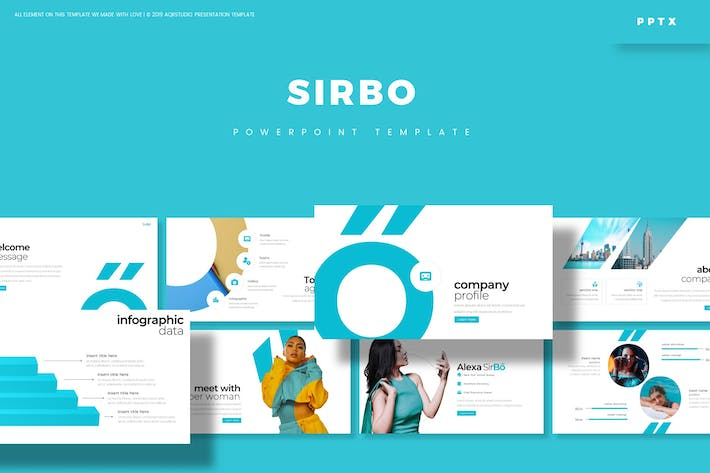 Cover Image For SIrbo - Powerpoint Template